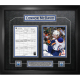 Connor McDavid - Edmonton Oilers Framed Scoresheet Collage - First Goal