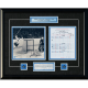 Darryl Sittler - Toronto Maple Leafs Framed Signed Scoresheet Collage - 10 Point Night